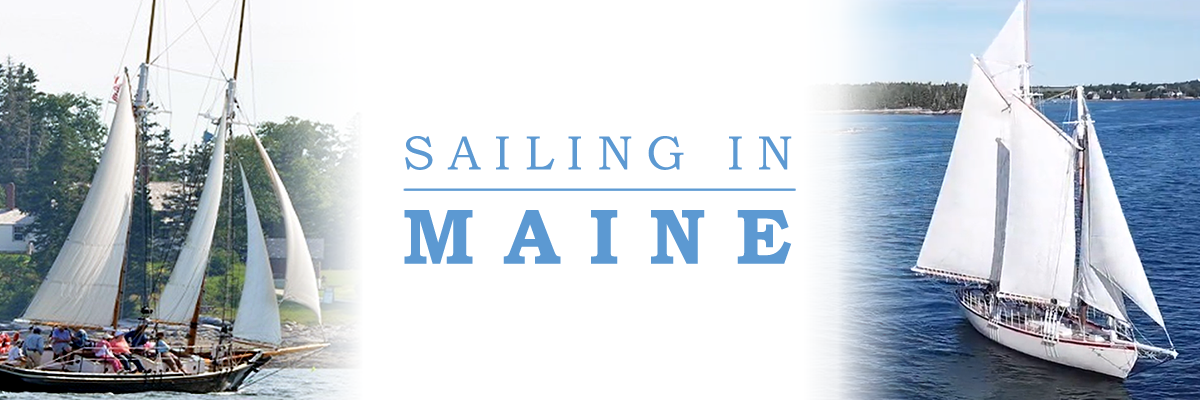 Sailing in Maine